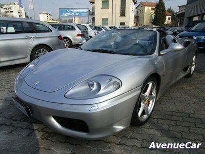 usata Ferrari 360 Spider F1 DA AMATORE UFFICIALE ITALIANA