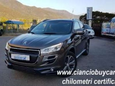usata Peugeot 4008 1.6 HDi 4x4 NON PERMANENTE CHILOMETRI CERTIFICATI Diesel