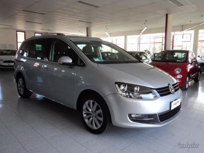 brugt VW Sharan 2.0 TDI 140 cv Highline 7 Posti UNICO PROPRIETARIO