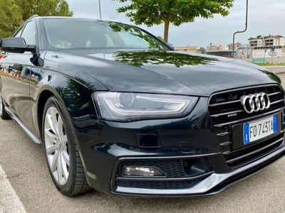 usata Audi A4 Avant 2.0 TDI 177CV quattro STronic S LINE/B.OFLUS