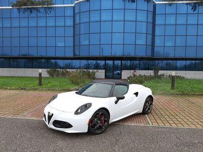 usata Alfa Romeo 4C 1750 TBi Spider CARBON PELLE ROSSA