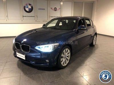 usata BMW 116 SERIE 1 (5 PORTE) d Business 5p