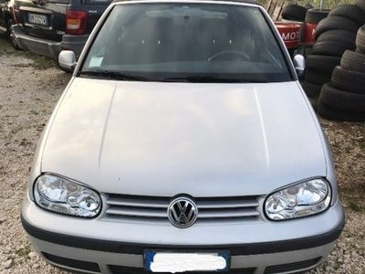 usata VW Golf Cabriolet 1.9 TDI Highline