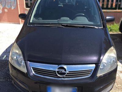 used Opel Zafira 1.9 diesel 7 posti