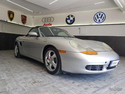 used Porsche Boxster Cabrio-automatico-retrocamera-