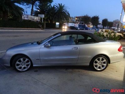 used Mercedes CLK200 kompr. tps cat cabrio elegance benzina