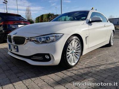 usata BMW 435 i Cabrio Luxury Unipro, Full opt. Fatturabile