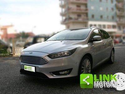 brugt Ford Focus 1.5 Tdci 120 CV Start&stop Titanium - UNIPRO - TAGLIANDI CERTIFICATI -
