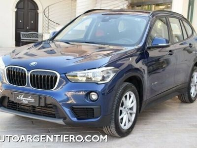 used BMW X1 xDrive18d automatico connect drive