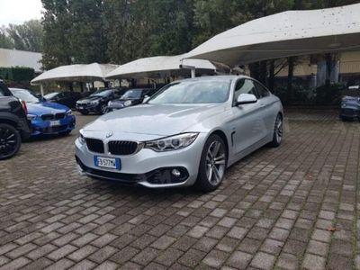 usata BMW 420 Serie 4 Coupé d Sport del 2015 usata a Pavia