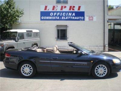 "usata Chrysler Sebring 2.7 V6 24V cat LX Cabrio ""UNICA PROP"""