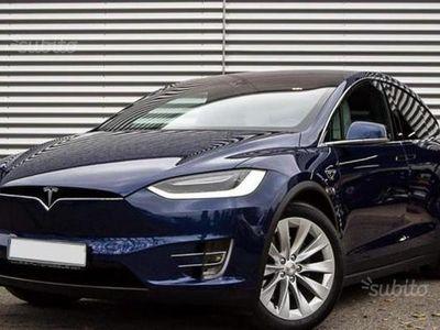 usata Tesla Model X 90kWh Dual Motor - Carbon Look - A