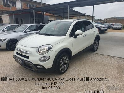 usata Fiat 500X 2.0 MultiJet 140 CV 4x4 Cross Plus 2015