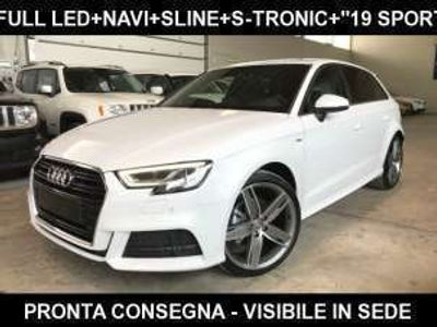 "usata Audi A3 SPB 2.0 TDI S-Tronic S line + Sline Led+""18 S-Line"
