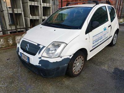 usata Citroën C2 1.4 HDi 70CV VAN 2 POSTI