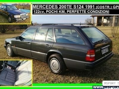 usata Mercedes 200 Serie S124 TE SW GPL,PERFETTA - 1991