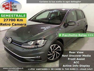 usata VW Golf Join ACT DSG 2018 1.5 B 131CV 7Aut 5P Grigio