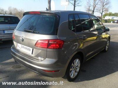 usata VW Golf Sportsvan 1.6 TDI 110CV Comfortline Blue Motion