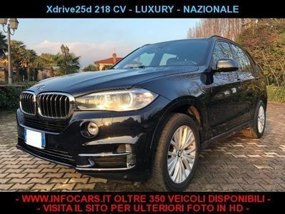 usado BMW X5 xDrive25d Luxury usato