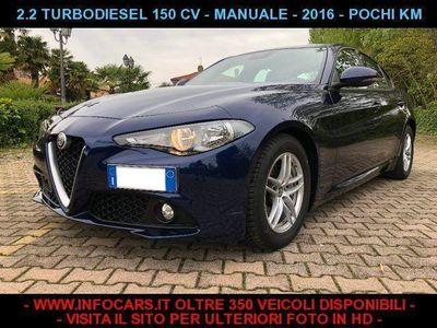 gebraucht Alfa Romeo Giulia 2.2 Turbodiesel 150 CV 37.000 KM
