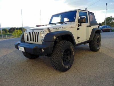brugt Jeep Wrangler 2.8 CRD DPF Sahara