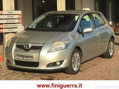 gebraucht Toyota Auris 1.4 d-4d m-mt 5 porte sol diesel 4/5-porte automatico grigio