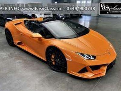 usata Lamborghini Huracán 5.2 V10 EVO Spyder Benzina