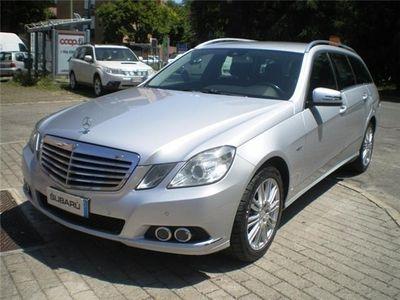 usata Mercedes E350 ClasseCgi S.w. Bluefficincy **perfetta** Usato