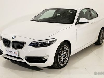 usata BMW 218 d Coupé Luxury aut.