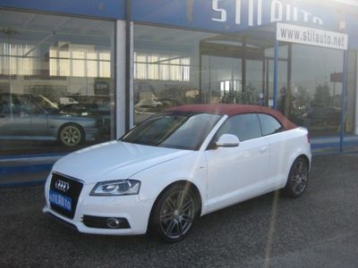 gebraucht Audi A3 Cabriolet 2.0 TDI F.AP. S tronic Ambition S-Line