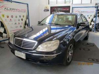 usata Mercedes S320 cat Lunga Benzina