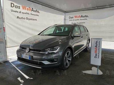 usata VW Golf Alltrack Variant 2.0 TDI 184CV DSG 4MOTION BMT nuova a Palermo