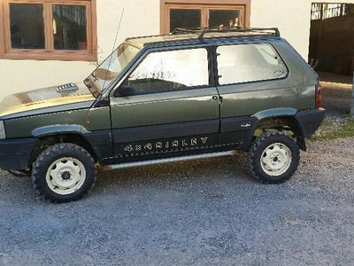 Usato 1000 4x4 sisley fiat panda 4x4 1989 km in for Fiat panda 4x4 sisley usata