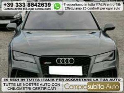 usata Audi RS7 SPB 4.0 V8 TFSI quattro tiptronic Benzina