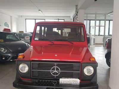 usata Mercedes G240 DOPPIA PORTA GANCIO TRAINO MOOD W 460 INTROVABILE