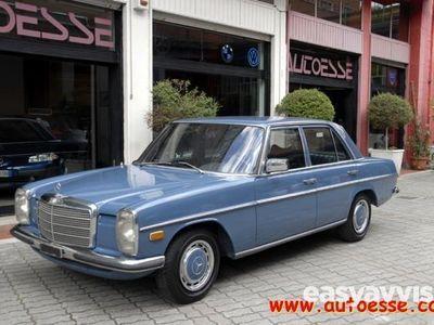 gebraucht Mercedes 240 d diesel 4/5-porte manuale azzurro