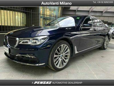 usata BMW 730 Serie 7 d xDrive Eccelsa del 2019 usata a Milano