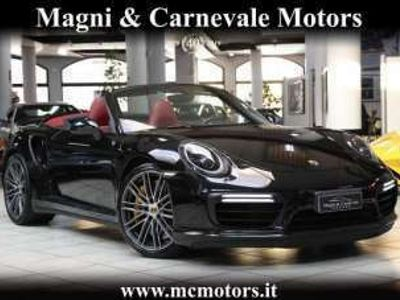 usata Porsche 991 TURBO S CABRIO|PDCC|ASSE POST STERZ|CARBO|BOSE Benzina