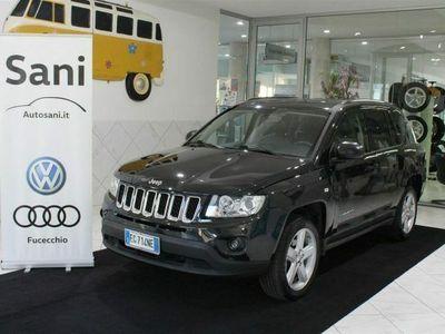 usata Jeep Compass 2.2 CRD Limited 4WD Unico Proprietario