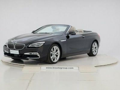 usata BMW 640 Cabriolet Serie 6 d xDrive Luxury
