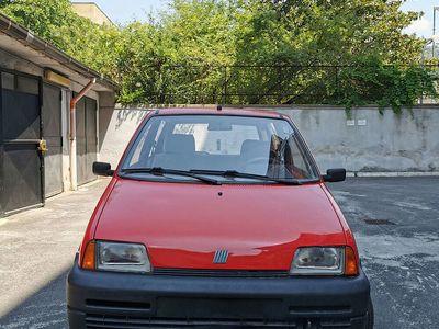 usata Fiat Cinquecento Rossa GPL 1997