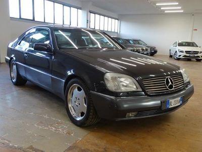 używany Mercedes CL500 SEC ISCRITTA ASI