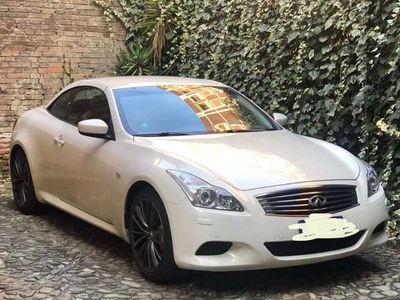 usata Infiniti G37 AT GT Premium Cabrio
