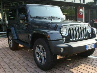 usata Jeep Wrangler 2.8 crd dpf sahara automatica