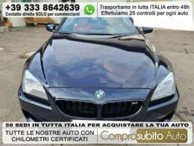 usata BMW M6 Cabriolet Benzina