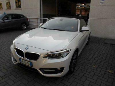 usata BMW 218 i Cabrio Sport rif. 12095633