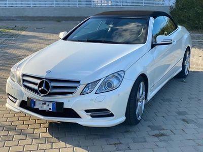 usata Mercedes E250 CDI Cabrio Executive