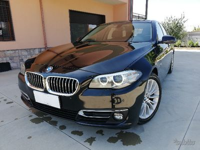 begagnad BMW 525 d 2014 2.0 218cv luxury navi,pelle,bixeno
