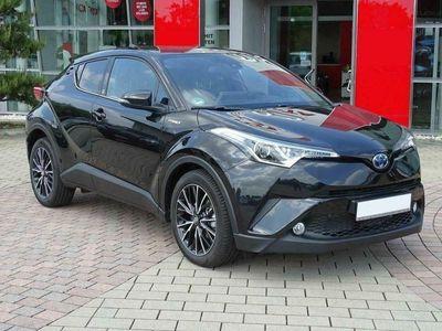 brugt Toyota C-HR 1.8 hybrid e-cvt team d