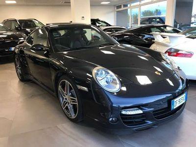 usata Porsche 911 Turbo 997Coupé GRIGIO ATLAS MET .